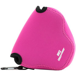 MegaGear Ever Ready Case for Olympus PEN E-PL7 with 16-50mm Lens (Hot Pink)