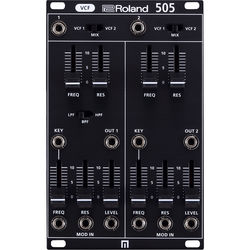 Roland System-500 Series - 505 VCF - Dual Filters Based on SH-5 - Eurorack Module