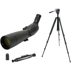 Celestron TrailSeeker 80 20-60x80 Spotting Scope Kit (Angled Viewing)