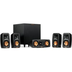 Klipsch Reference Theater Pack 5.1 System (Black)