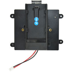 Ikan BPM-P Panasonic Battery Plate for MR7 Monitor Black