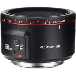 Yongnuo YN 50mm f/1.8 II Lens for Canon EF (Black)