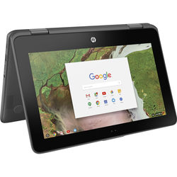 "HP 11.6"" 32GB Multi-Touch 2-in-1 Chromebook x360 11-ae020nr"