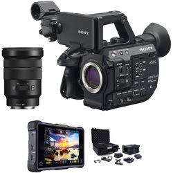 Sony FS5 II ProRes RAW Atomos Kit with 18-105mm Lens