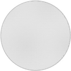 Atlas Sound EGR63W Edgeless Round Grille for FAP63T-W Speaker (White)