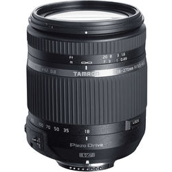 Tamron 18-270mm f/3.5-6.3 Di II VC PZD Lens for Nikon F