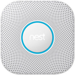 Nest Protect Battery-Powered Smoke and Carbon Monoxide Alarm (White, 2nd Generation)
