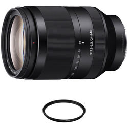 Sony FE 24-240mm f/3.5-6.3 OSS Lens with Circular Polarizer Filter Kit