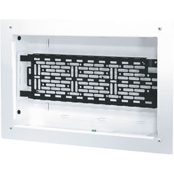 """Middle Atlantic 9 x 14"""" Proximity Series In-Wall Box with One Lever Lock 4"""" Mounting Plate for Storing AV System Components"""