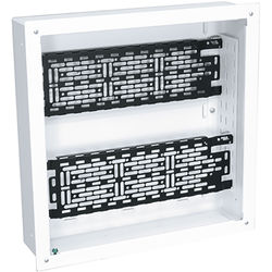 "Middle Atlantic 14 x 14"" Proximity Series In-Wall Box with Two Lever Lock 4"" Mounting Plate for Storing AV System Components"