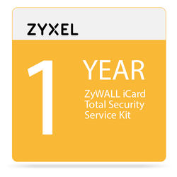 ZyXEL 1-Year ZyWALL iCard Total Security Service Kit for USG2000 Unified Security Gateway
