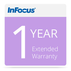 """InFocus 65"""" ShareView Extended Warranty for 1-Year"""
