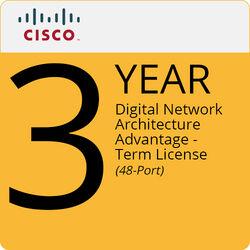 Cisco Digital Network Architecture Advantage - Term License (3-Year, 48 Port)
