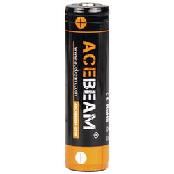Acebeam 18650 Rechargeable High-Drain Li-Ion Battery (3.7V, 3100mAh)