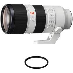 Sony FE 70-200mm f/2.8 GM OSS Lens with UV Filter Kit
