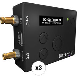 Timecode Systems 3 x UltraSync ONE Timecode Sync Solution