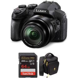 Panasonic Lumix DMC-FZ300 Digital Camera with Accessories Kit