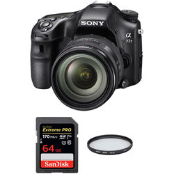 Sony Alpha a77 II DSLR Camera with 16-50mm f/2.8 Lens Basic Kit
