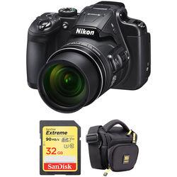 Nikon COOLPIX B700 Digital Camera with Accessory Kit