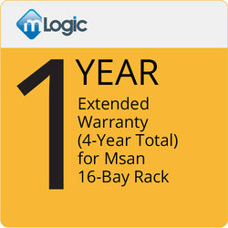 mLogic 1-Year Extended Warranty for mSan 16-Bay Thunderbolt 3 Storage Solution (4-Year Total)
