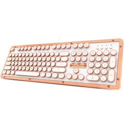 b60a96cba86 AZIO Retro Classic USB Backlit Mechanical Keyboard (Posh)
