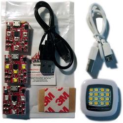 Firehouse Technology Navigation Kit 3 Arc- Strobes (White,Red, Green) 16 LED Spotlight