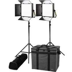 ikan Lyra 1x1 Bi-Color Soft LED 2-Point Light Kit