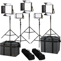 ikan Lyra Daylight 5-Point LED Soft Panel Light Kit with 3 x LW10 and 2 x LW5