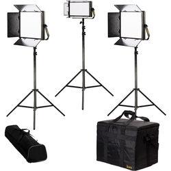 ikan Lyra Daylight 3-Point LED Soft Panel Light Kit with 2 x LW10 and 1 x LW5