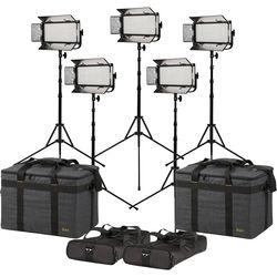 ikan Mylo Half x 1 Daylight 5-Light Kit with Stands