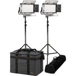 ikan Rayden RB5 Half x 1 Bi-Color 2-Light Kit with Stands