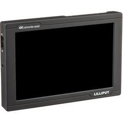 "Lilliput FS7 7"" 4K HDMI/3G-SDI Monitor with L-Series Type Plate"