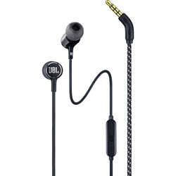 JBL Live 100 In-Ear Headphones with 1-Button Remote & Mic (Black)
