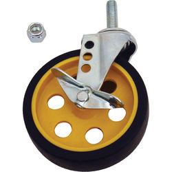 """MultiCart 5"""" G-force Caster with Brake for R8 and R10 (2 Pack)"""
