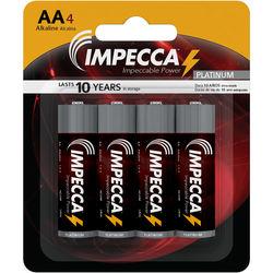 Impecca Alkaline AA Batteries (4-Pack)