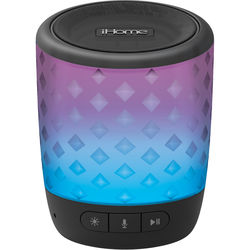 iHome iBT81B Color Changing Rechargeable Bluetooth Speaker