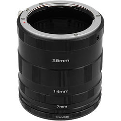 FotodioX Macro Extension Tube Set for Nikon F-Mount Cameras: for Extreme Close-Up Photography