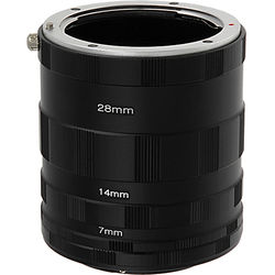 FotodioX Macro Extension Tube Set for 4/3-Mount Cameras: for Extreme Close-Up Photography