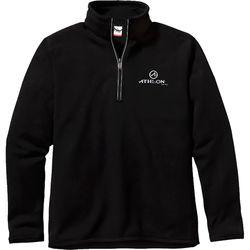Athlon Optics 1/4-Zip Fleece (Black, Large)