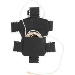 Wireless Mic Belts Wig Pac for Sennheiser SK 5212 Transmitter (Black)