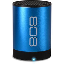 808 Audio Canz2 Portable Wireless Bluetooth Speaker (Blue)