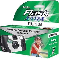 FUJIFILM QuickSnap Flash X-TRA 800 Disposable Camera (27 Exposures)