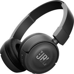JBL T450BT Wireless On-Ear Headphones (Black)