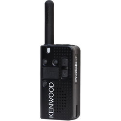 Kenwood PKT-23BKP 4-Channel 1.5W UHF Pocket-Size FM Radio (451 to 470 MHz)