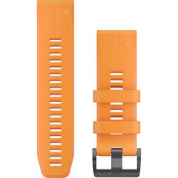 Garmin QuickFit 26 Silicone Watch Band (Solar Flare Orange)