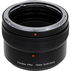 FotodioX Pro Lens Mount Adapter for Rollei SL66 Lens to Sony A-Mount Camera