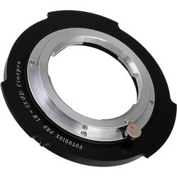 FotodioX Pro Lens Mount Adapter for Leica M Rangefinder Lens to Sony Cinealta FZ-Mount Camera Body