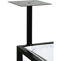 Novopro Add-On Podium Shelves for SDX DJ Booths (Pair, Black)