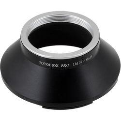 FotodioX Pro Mount Adapter for Leica M39/L39 Visoflex Lens to Mamiya 645 Camera