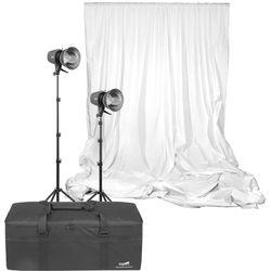Angler Glamour Flash 300Ws 2-Light Kit